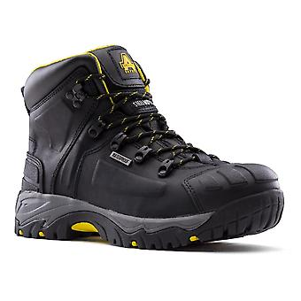 Amblers Mens Waterproof Wide Fit Safety Boot