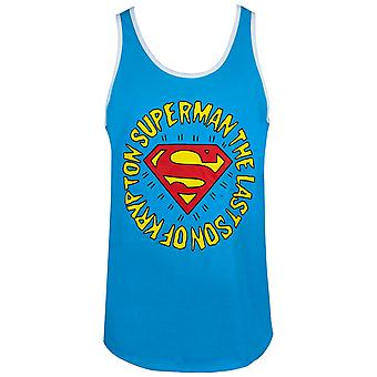 Superman last Son von Krypton Ringer Men's Tank Top