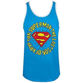 סופרמן בן האחרון של קריפטון הגברים ' s טנק למעלה