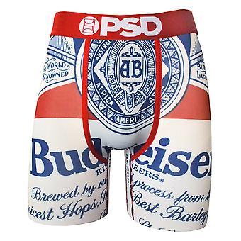 Budweiser Beer Label Boxers