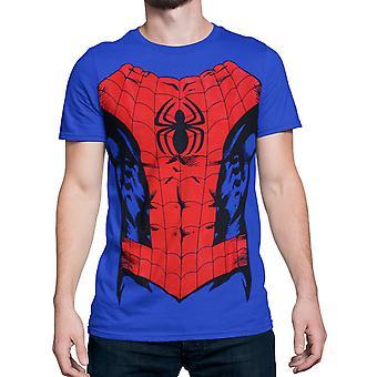 Spider-Man Anzug-Up Männer's Kostüm T-Shirt