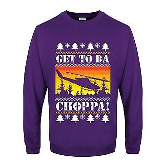 Grindstore miesten saada da Choppa Christmas jumpperi
