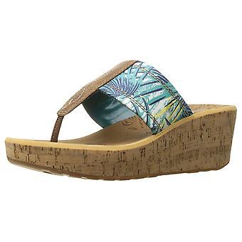 Rockport Womens lanea gore Leather Split Toe Casual Platform Sandals