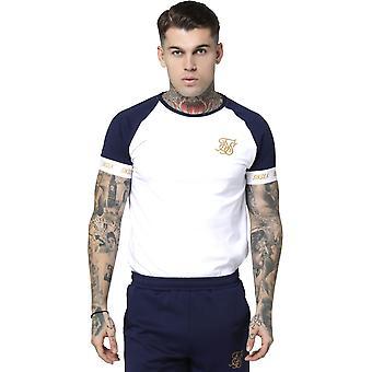Sik Silk Tech T-Shirt Navy 03