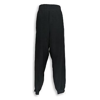 Anybody Women's Pants XLT Cozy Knit Cargo Black A310169