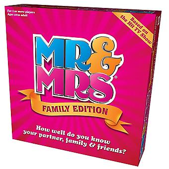 Mr And Mrs Family Edition Box Game