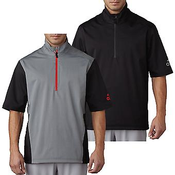 adidas Golf Hombres Impermeable Climaproof Heathered SS Rain Top
