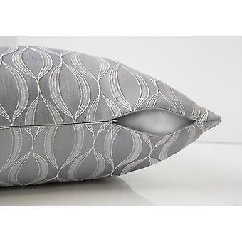 """18"""" x 18"""" Grey, Wave Pattern - Pillow 2pcs"""