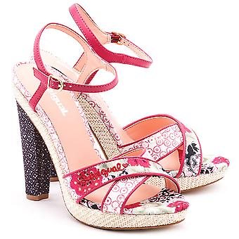 Desigual Women-apos;s Floral Tacon Alto Silvi 2 High Heeled Sandals UK 7 41