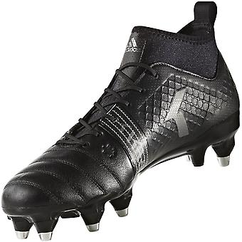 adidas Performance Mens Kakari Force Sports Lace Up Rugby Training Boots - Black
