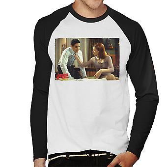 American Pie Jim And Michelle Men's Baseball Long Sleeved T-Shirt