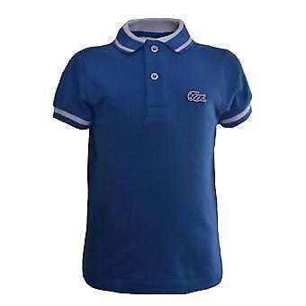 Lacoste Boys Lacoste Kids Blue Polo Shirt