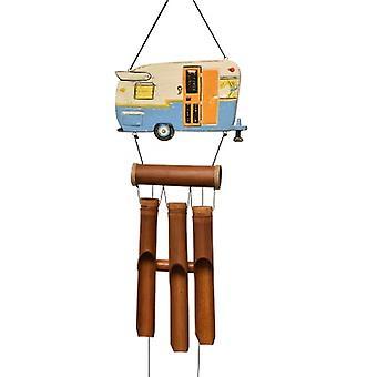 Camper Trailer Bamboo Wind Chime