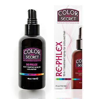 Farbliche Geheimnis – Phlex 10 in 1 Behandlungsspray
