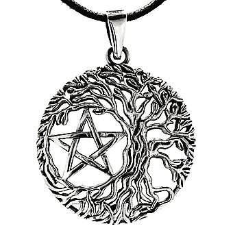 Pendant 212 tree of life - silver