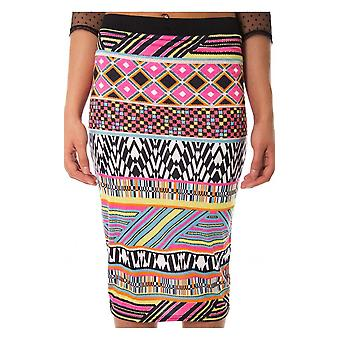 Esha Aztec Midi Skirt