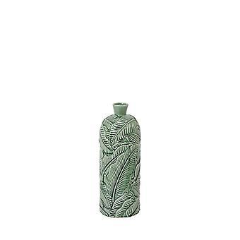 Light & Living Vase Deco 16.5x43cm Lavero Ceramics Seagreen