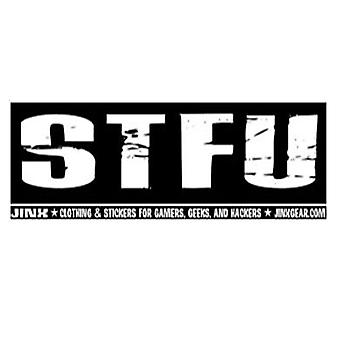 J!nx STFU Sticker