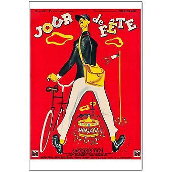 Jour De Fete (Reprint) (1949) Reprint Cinema Poster
