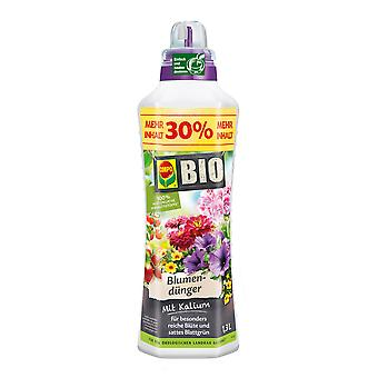 COMPO BIO Flower Fertilizer, 1.3 litres