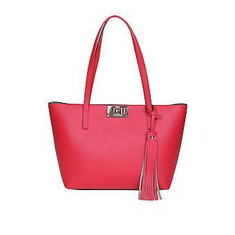 Furla 1045415 Women's Red Leather Tote