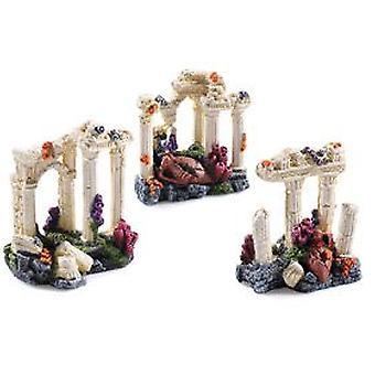 Classic For Pets Asst Grecian Columns 3pcs (Fish , Decoration , Ornaments)
