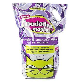 Inodorina ラベンダー Magique (猫、グルーミング ・幸福の猫のくず)