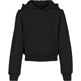 Cotton Addict Girls Cropped Casual Sweatshirt Hoodie