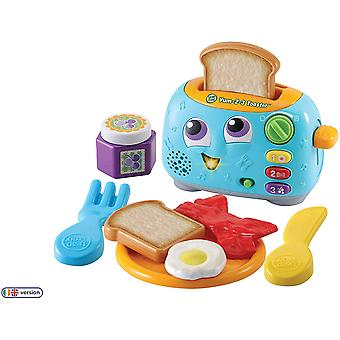 Leapfrog Yum-2-3 Toaster With Play Food Pretend Play