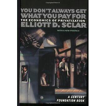 U Get niet Always What You Pay voor - de economie van de privatisering