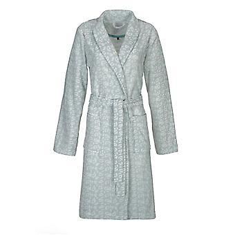 Vossen 141763-002 Women's Jane Shell Blue Animal Print Cotton Dressing Gown Robe