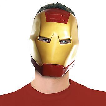 Iron Man Vintage Stile Ben Cooper Costume Halloween Maschera