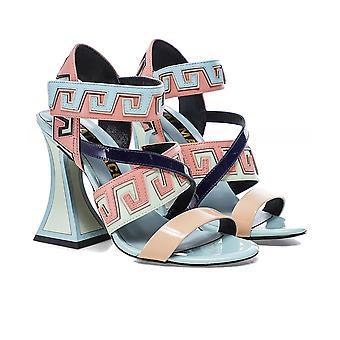 Kat Maconie Esme Flared Heel Sandals