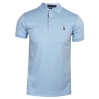 Ralph lauren men's blauw poloshirt
