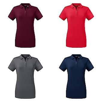 Russell Womens/Ladies Tailored Stretch Polo