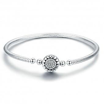 Sterling-silber Charm-armband Helle Herzen - 5869