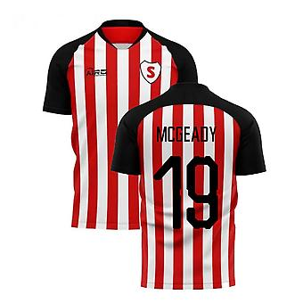 2020-2021 Sunderland Home Concept Football Shirt (McGeady 19)