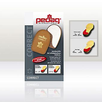 Pedag Correct Heel Solid Heel Step Straightener for Shoes and Boots