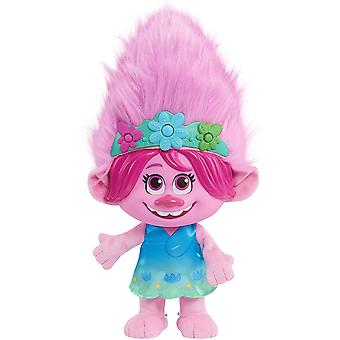Dreamworks Trolls World Tour Colour Poppin' Poppy Musical Pluche Pop Ages 3