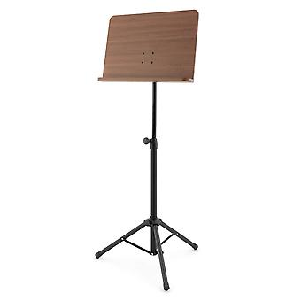 Theodore Sheet Music Stand - Orchestral Music Stand, Wooden Desk,