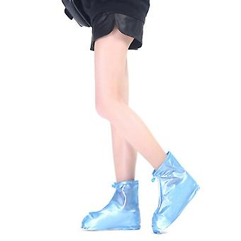PVC middle tube adult rain boots cover