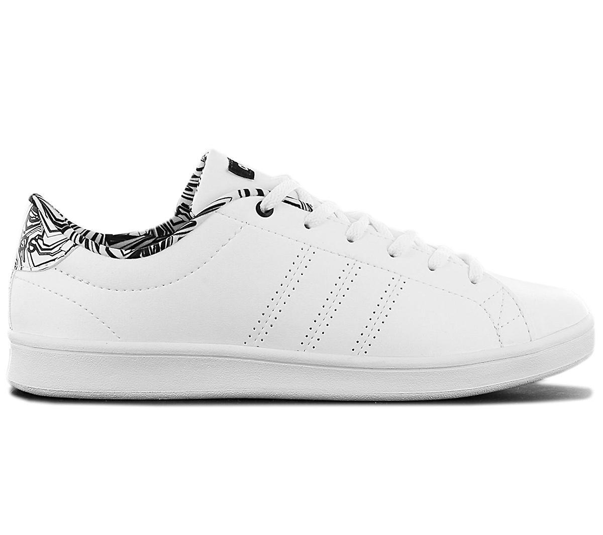 adidas Advantage CL QT W - Damen Schuhe Weiß DB1858 Sneakers Sportschuhe IhmRS