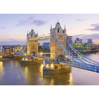 Clementoni Tower Bridge High Quality Jigsaw Puzzle (1000 Pieces)