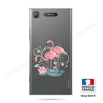 Rumpf für Sony Xperia Xz1 Soft Flamingo Rose