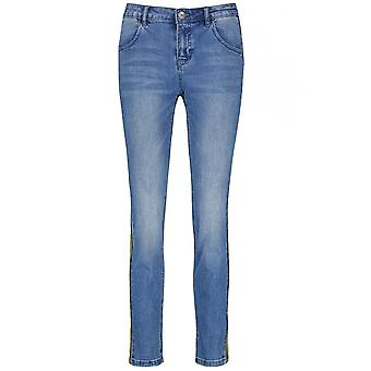 Taifun Blue Denim Slim Leg Jeans