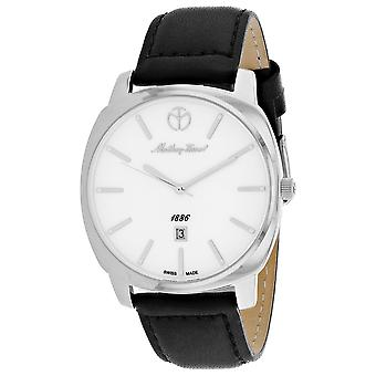 Mathey Tissot Men's Smart White Dial Watch - H6940AI