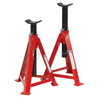 Sealey As5000M Axle Stands 5Tonne Cap Per Stand 10Tonne Per Pair Medium Height
