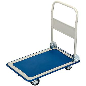 Draper 44005 150Kg Platform Trolley With Folding Handle - 630 x 480 x 850mm