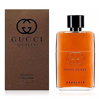 Men's Perfume Gucci Guilty Homme Absolute Gucci EDP/90 ml