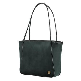 TITAN Barbara Velvet Shopper 31 cm, Grün